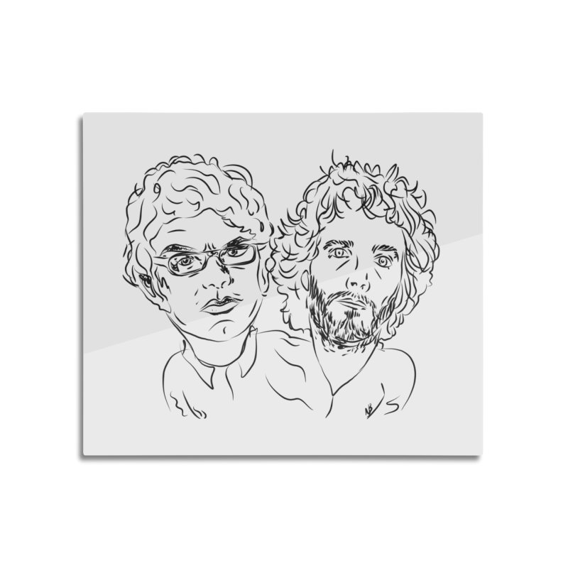 Bret Jermaine Flight of the Conchords Home Mounted Acrylic Print by Loganferret's Artist Shop