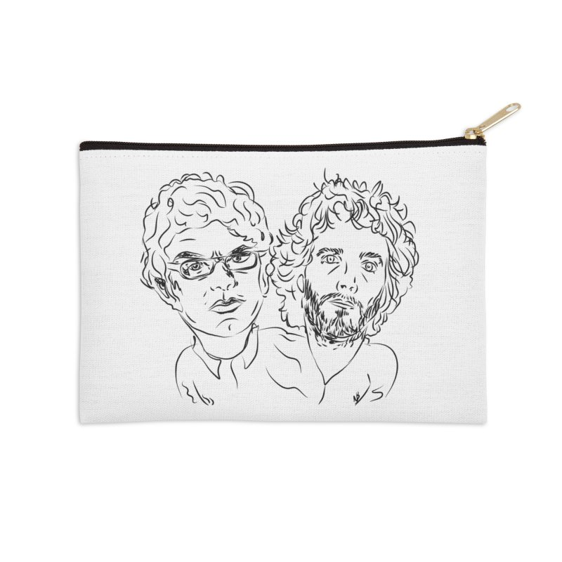 Bret Jermaine Flight of the Conchords Accessories Zip Pouch by Loganferret's Artist Shop