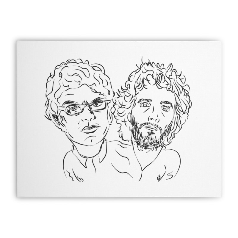 Bret Jermaine Flight of the Conchords Home  by Loganferret's Artist Shop