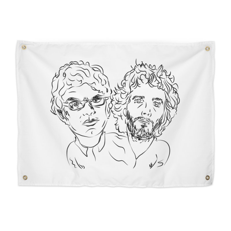 Bret Jermaine Flight of the Conchords Home Tapestry by Loganferret's Artist Shop