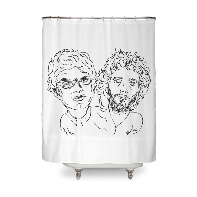 Bret Jermaine Flight of the Conchords Home Shower Curtain by Loganferret's Artist Shop