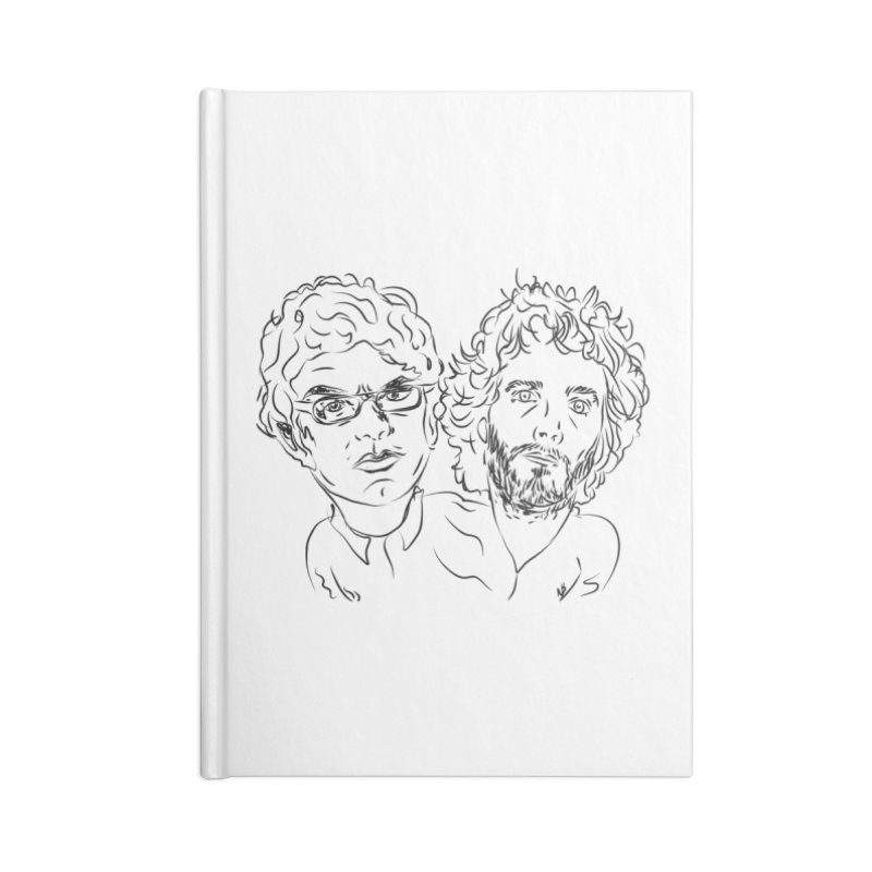 Bret Jermaine Flight of the Conchords Accessories Notebook by Loganferret's Artist Shop