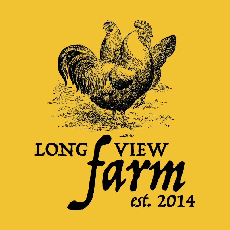 Long View Farm Classic Chicken Logo T-Shirts by Long View Farm