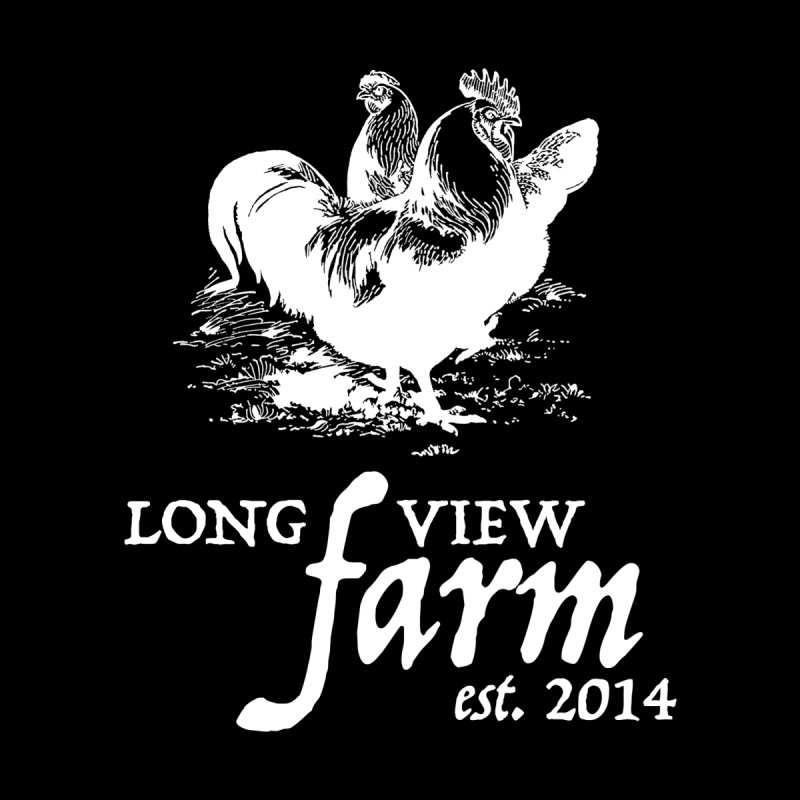 Long View Farm Classic Chicken Logo Hoodie by Long View Farm