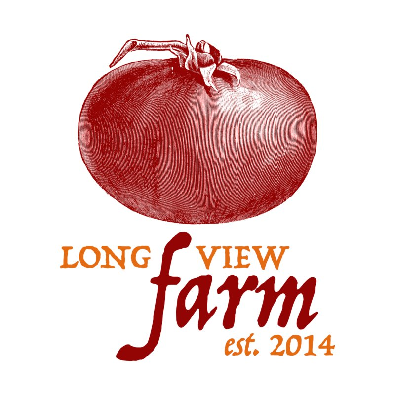 Long View Farm Classic Tomato Logo T-Shirt by Long View Farm