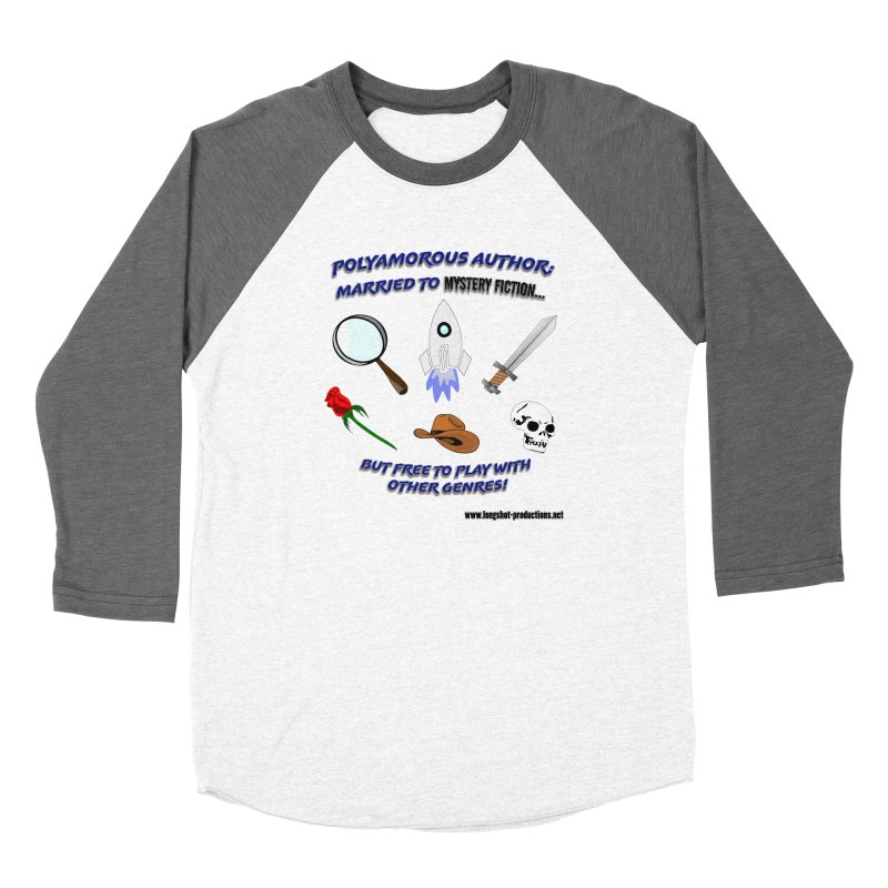 Cross Genre Author - Mystery Women's Longsleeve T-Shirt by Author Centric Designs By Longshot Productions