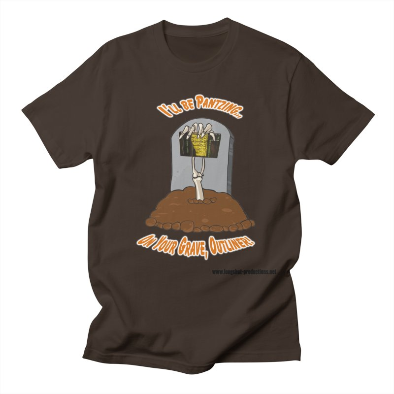 Pantzers Vs Outliners Men's T-Shirt by Author Centric Designs By Longshot Productions