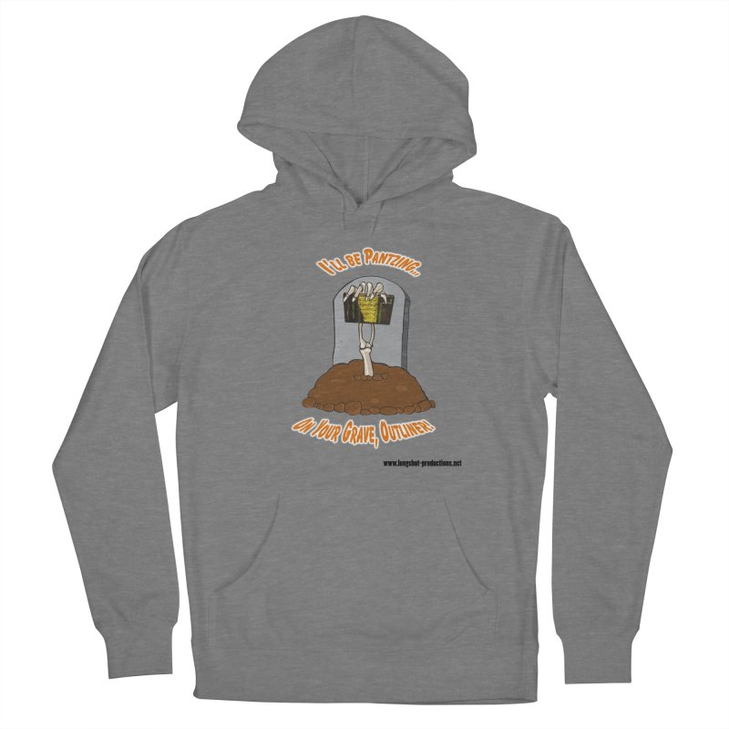 Pantzers Vs Outliners Women's Pullover Hoody by Author Centric Designs By Longshot Productions