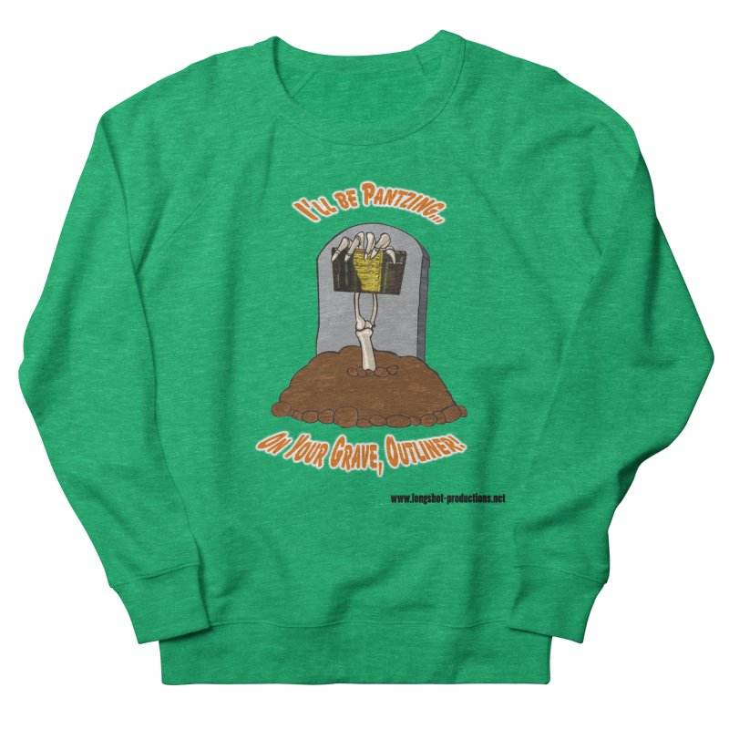 Pantzers Vs Outliners Women's Sweatshirt by Author Centric Designs By Longshot Productions