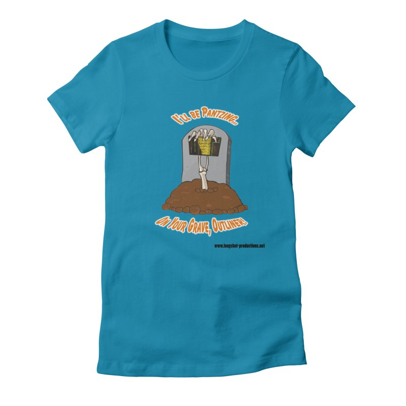 Pantzers Vs Outliners Women's T-Shirt by Author Centric Designs By Longshot Productions