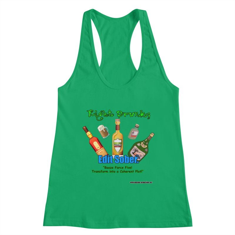 Write Drunk; Edit Sober Women's Tank by Author Centric Designs By Longshot Productions