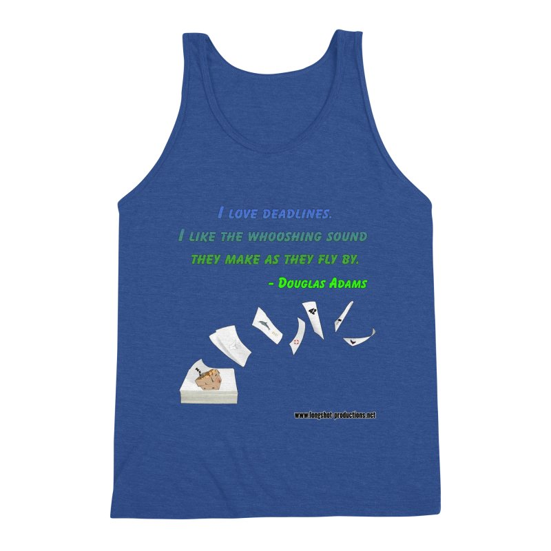 Deadlines Due in 42 Men's Tank by Author Centric Designs By Longshot Productions
