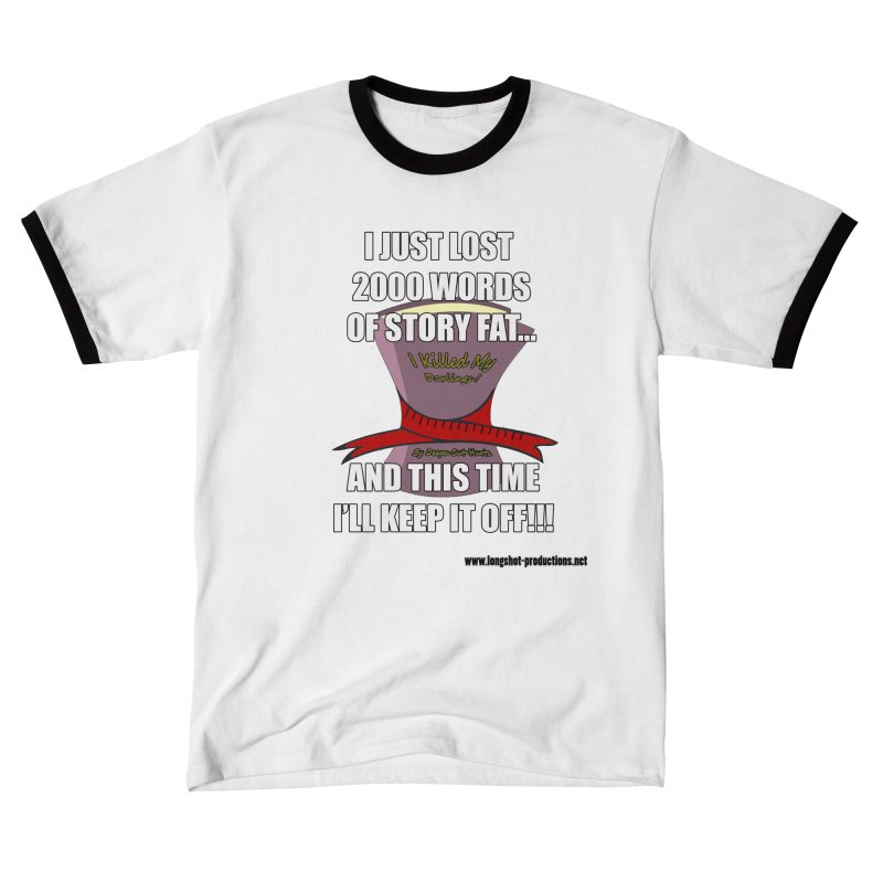 I Just Lost 2000 Words... Men's T-Shirt by Author Centric Designs By Longshot Productions