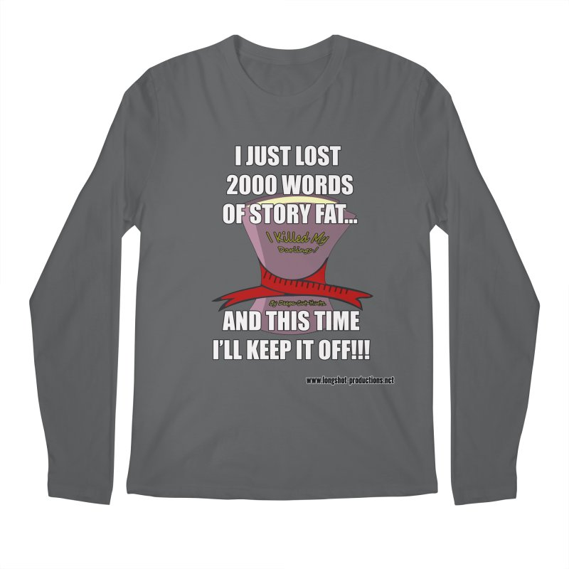 I Just Lost 2000 Words... Men's Longsleeve T-Shirt by Author Centric Designs By Longshot Productions