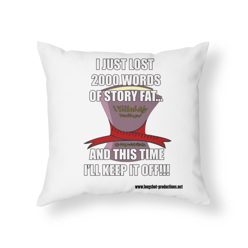 I Just Lost 2000 Words... Home Throw Pillow by Author Centric Designs By Longshot Productions