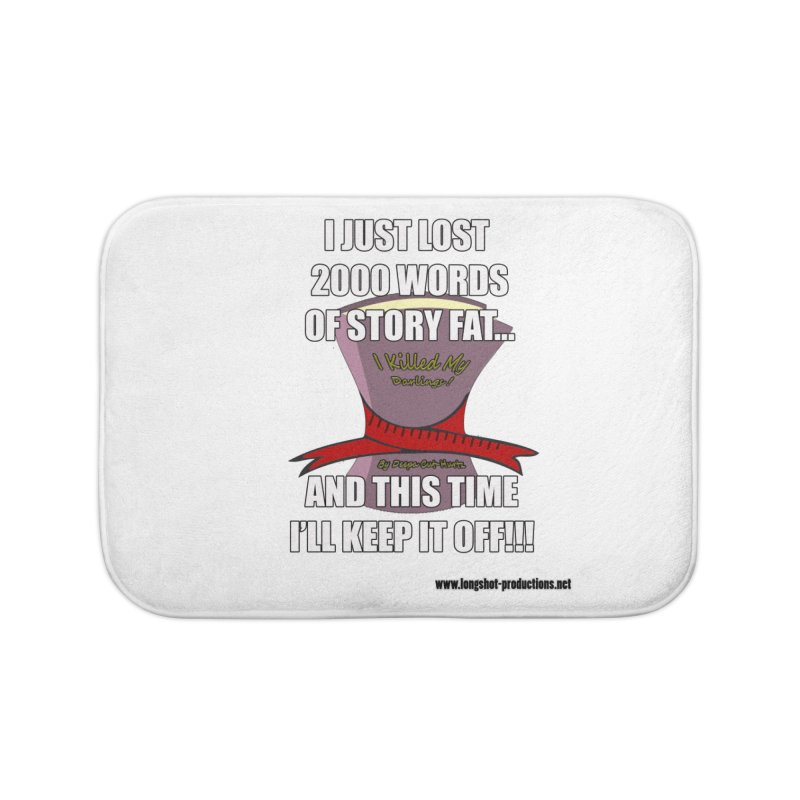 I Just Lost 2000 Words... Home Bath Mat by Author Centric Designs By Longshot Productions