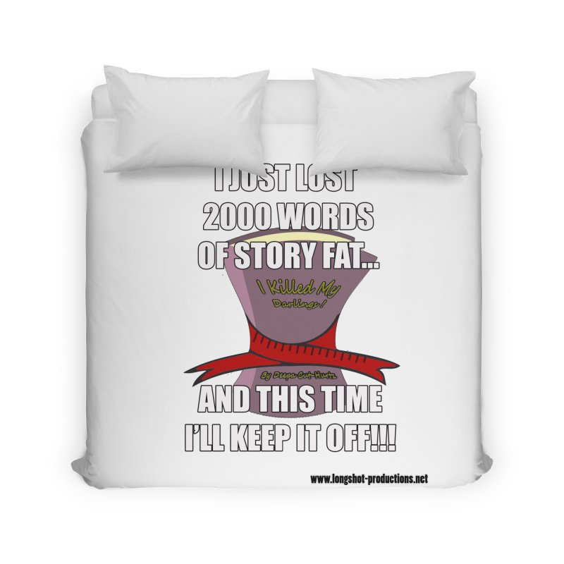 I Just Lost 2000 Words... Home Duvet by Author Centric Designs By Longshot Productions