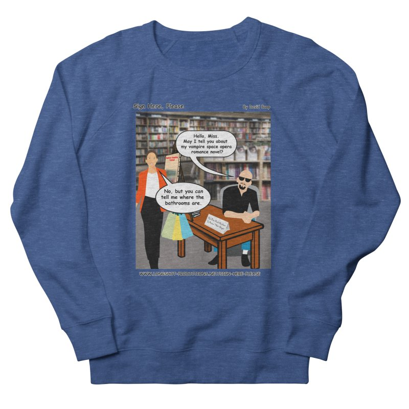 Sign Here, Please Season 1 Episode 1 - Bathroom Men's Sweatshirt by Author Centric Designs By Longshot Productions