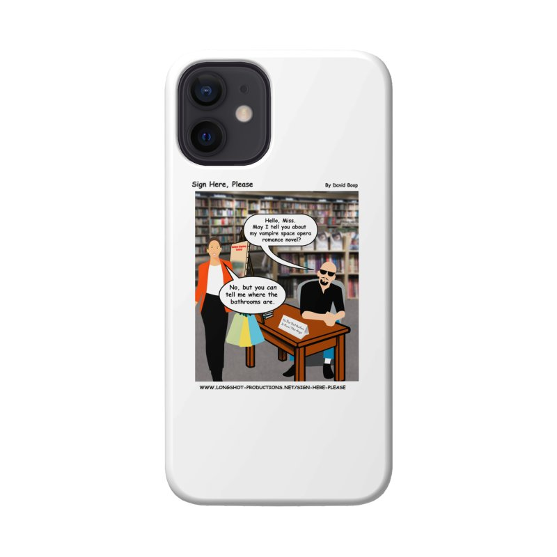 Sign Here, Please Season 1 Episode 1 - Bathroom Accessories Phone Case by Author Centric Designs By Longshot Productions
