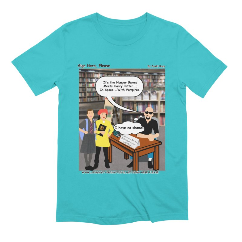 Sign Here, Please Season 1, Episode 2 - Potter Men's T-Shirt by Author Centric Designs By Longshot Productions