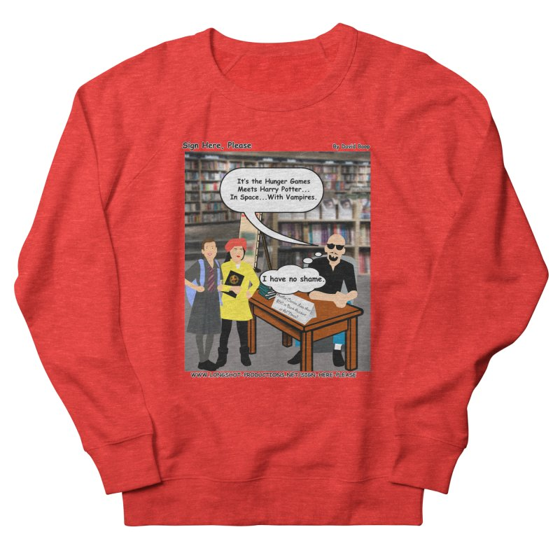 Sign Here, Please Season 1, Episode 2 - Potter Men's Sweatshirt by Author Centric Designs By Longshot Productions