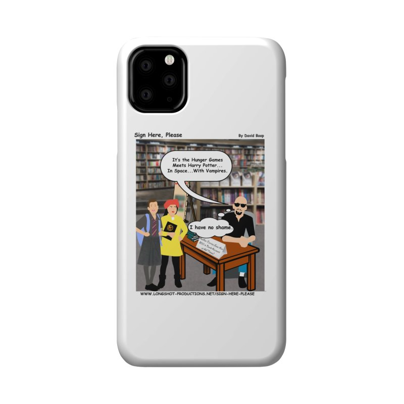 Sign Here, Please Season 1, Episode 2 - Potter Accessories Phone Case by Author Centric Designs By Longshot Productions