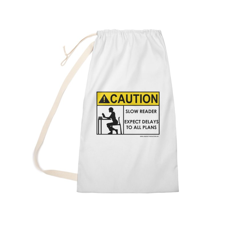Slow Reader - Expect Delays (Female) Accessories Bag by Author Centric Designs By Longshot Productions