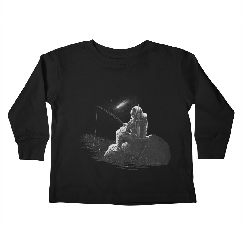 He's not the man they think he is at home Kids Toddler Longsleeve T-Shirt by Loremnzo's Artist Shop