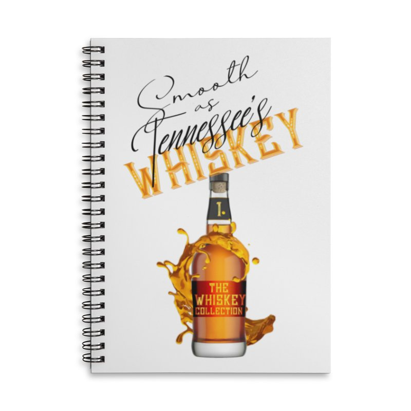 Whiskey Collection Accessories Notebook by Loverotica's Artist Shop