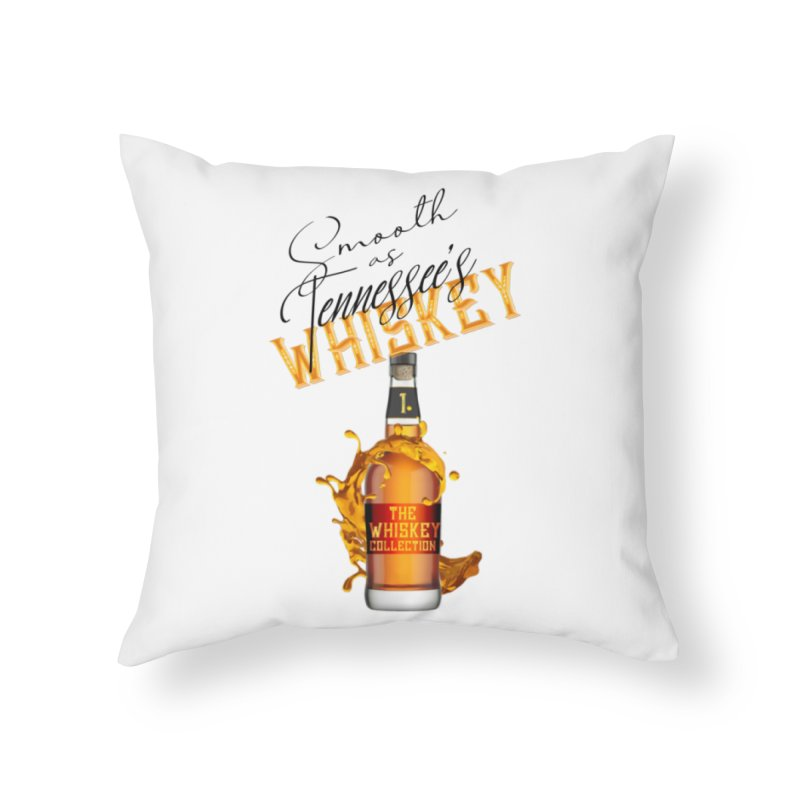 Whiskey Collection Home Throw Pillow by Loverotica's Artist Shop