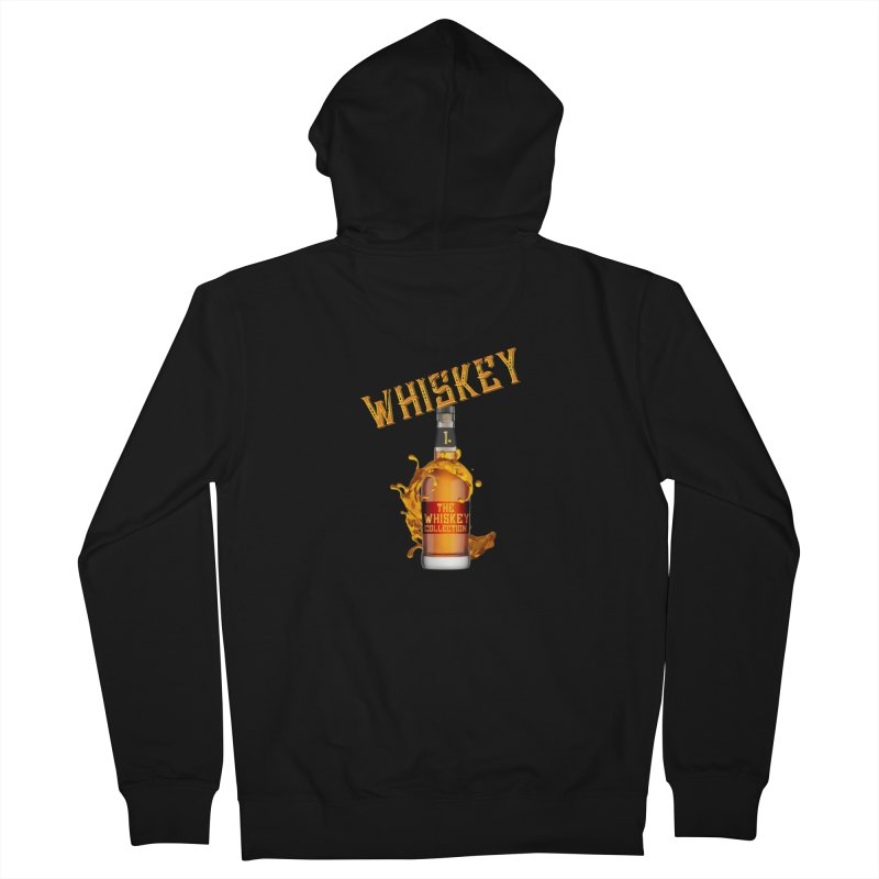 Whiskey Collection Men's Zip-Up Hoody by Loverotica's Artist Shop