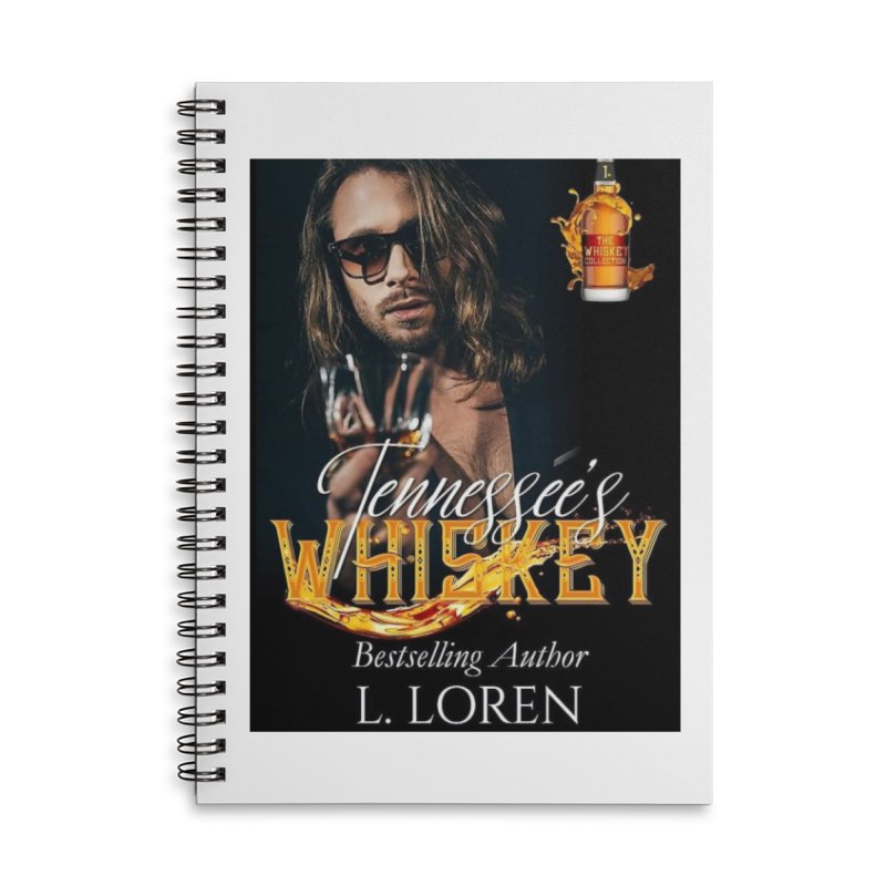 Tennessee's Whiskey Accessories Notebook by Loverotica's Artist Shop