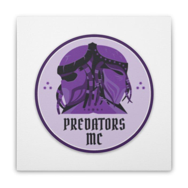Predators MC Home Stretched Canvas by Loverotica's Artist Shop