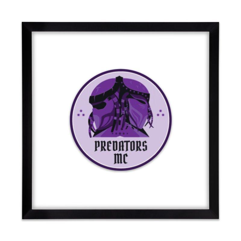 Predators MC Home Framed Fine Art Print by Loverotica's Artist Shop