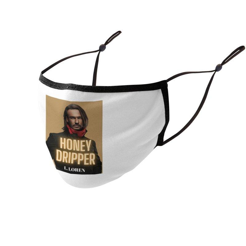 Honey Dripper Accessories Face Mask by Loverotica's Artist Shop