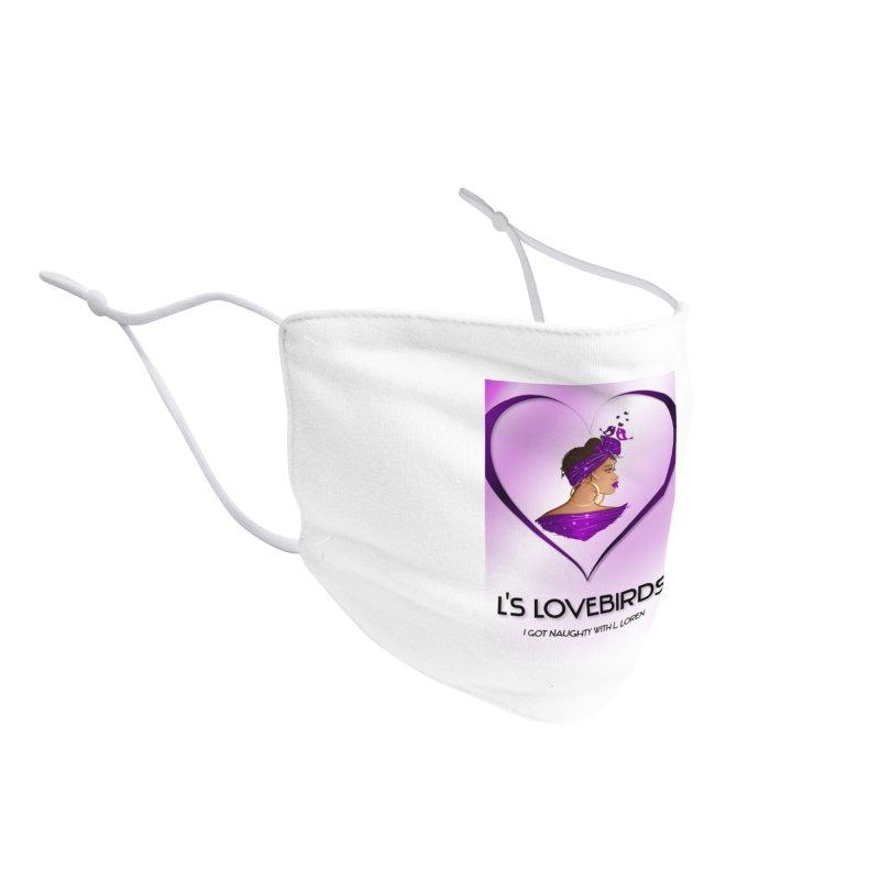 Lovebirds Merch Accessories Face Mask by Loverotica's Artist Shop