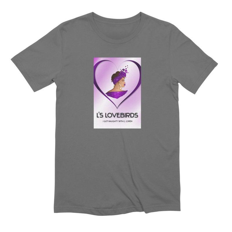 Lovebirds Merch Men's T-Shirt by Loverotica's Artist Shop