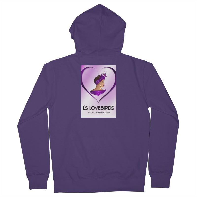 Lovebirds Merch Women's Zip-Up Hoody by Loverotica's Artist Shop