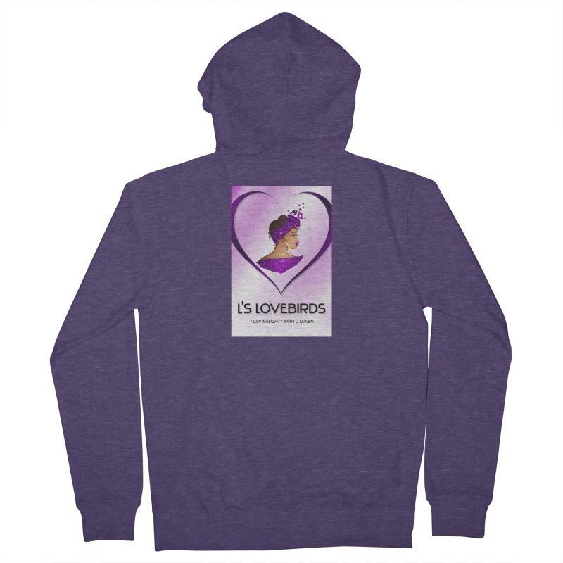 Lovebirds Merch Men's Zip-Up Hoody by Loverotica's Artist Shop