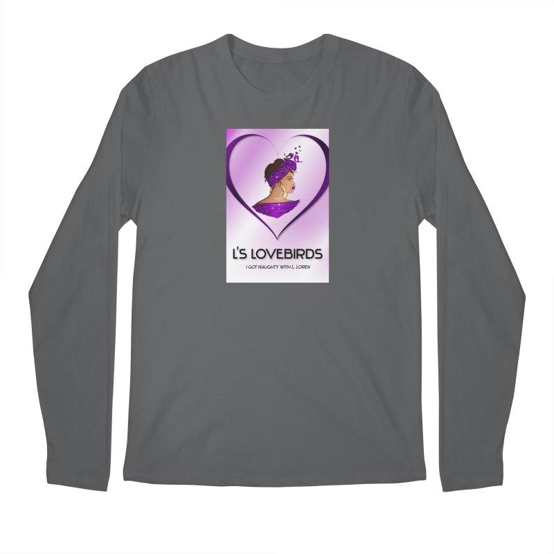 Lovebirds Merch Men's Longsleeve T-Shirt by Loverotica's Artist Shop