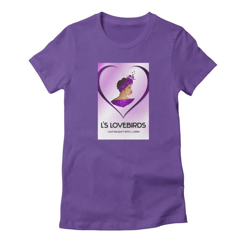 Lovebirds Merch Women's T-Shirt by Loverotica's Artist Shop