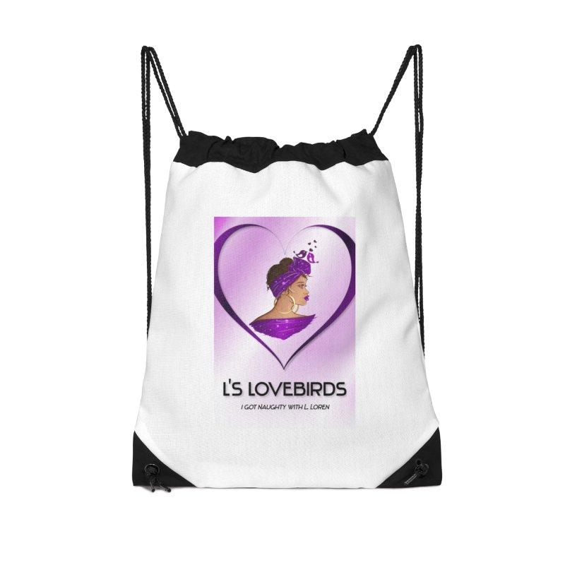 Lovebirds Merch Accessories Bag by Loverotica's Artist Shop