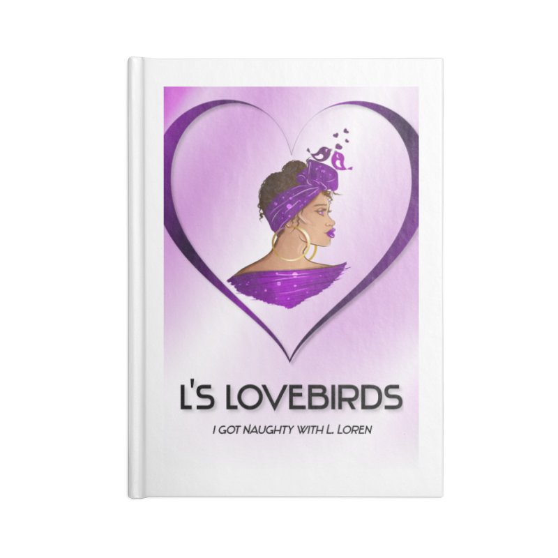 Lovebirds Merch Accessories Notebook by Loverotica's Artist Shop