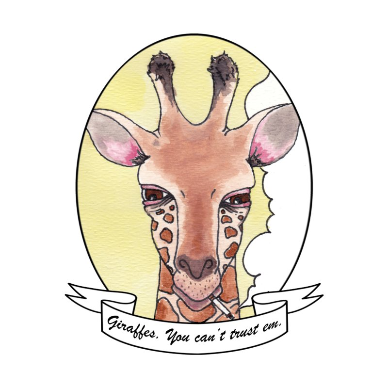 Angry Giraffe by LowLuck and RottingPie