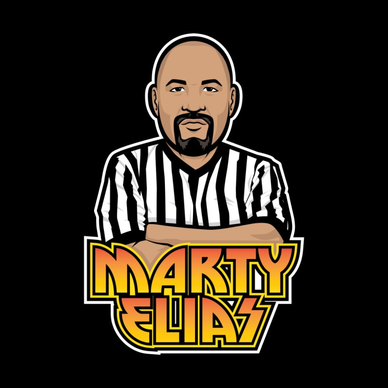 "Referee Marty Elias ""The Law"" Shirt   by Luchapparel Store"