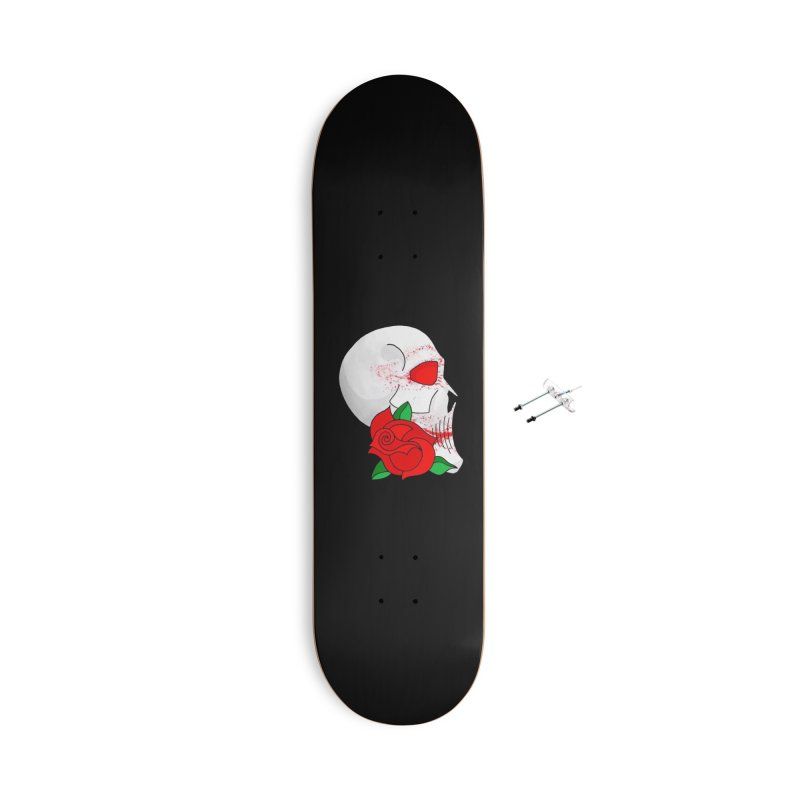 A Rose By Any Other Name.. Accessories With Hanging Hardware Skateboard by 7thSin Apparel