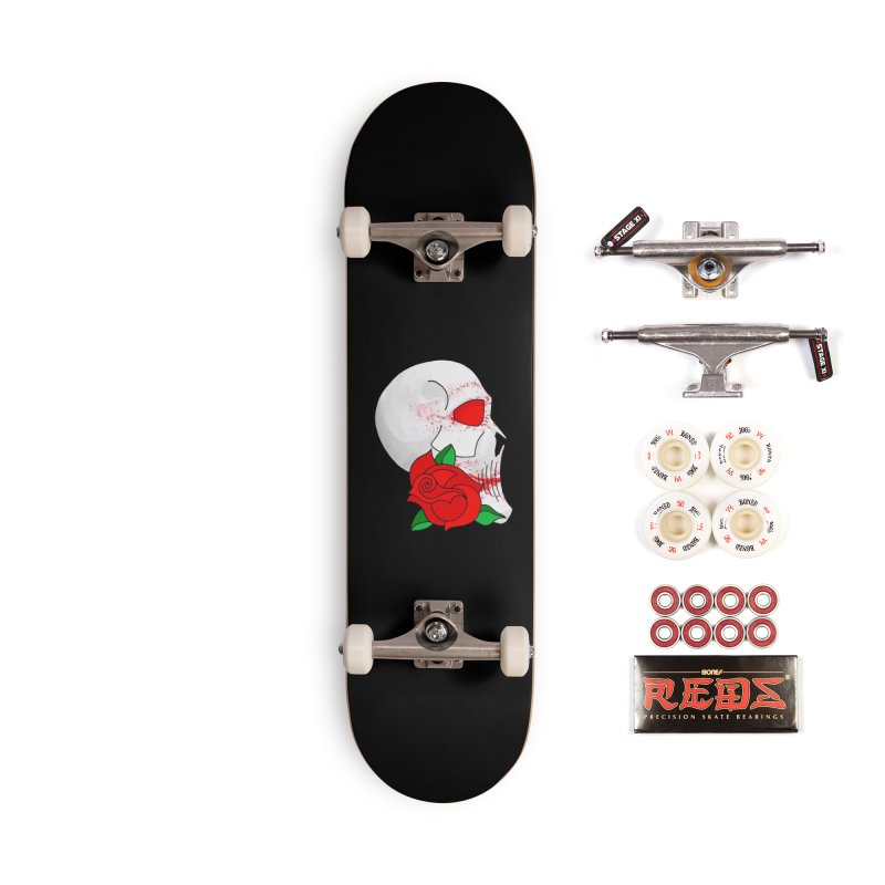 A Rose By Any Other Name.. Accessories Complete - Pro Skateboard by 7thSin Apparel