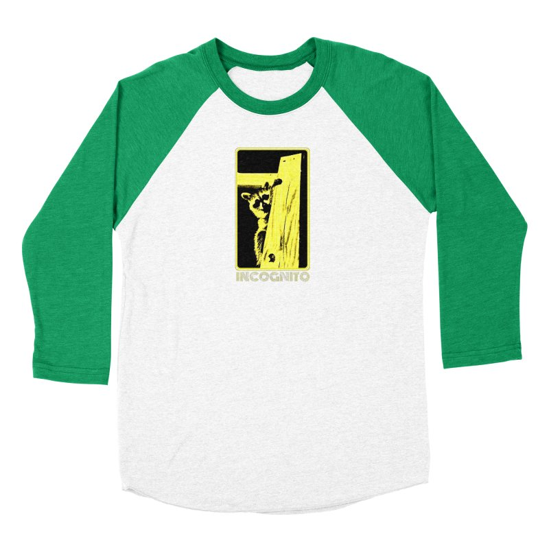 INCOGNITO Men's Baseball Triblend Longsleeve T-Shirt by 7thSin Apparel