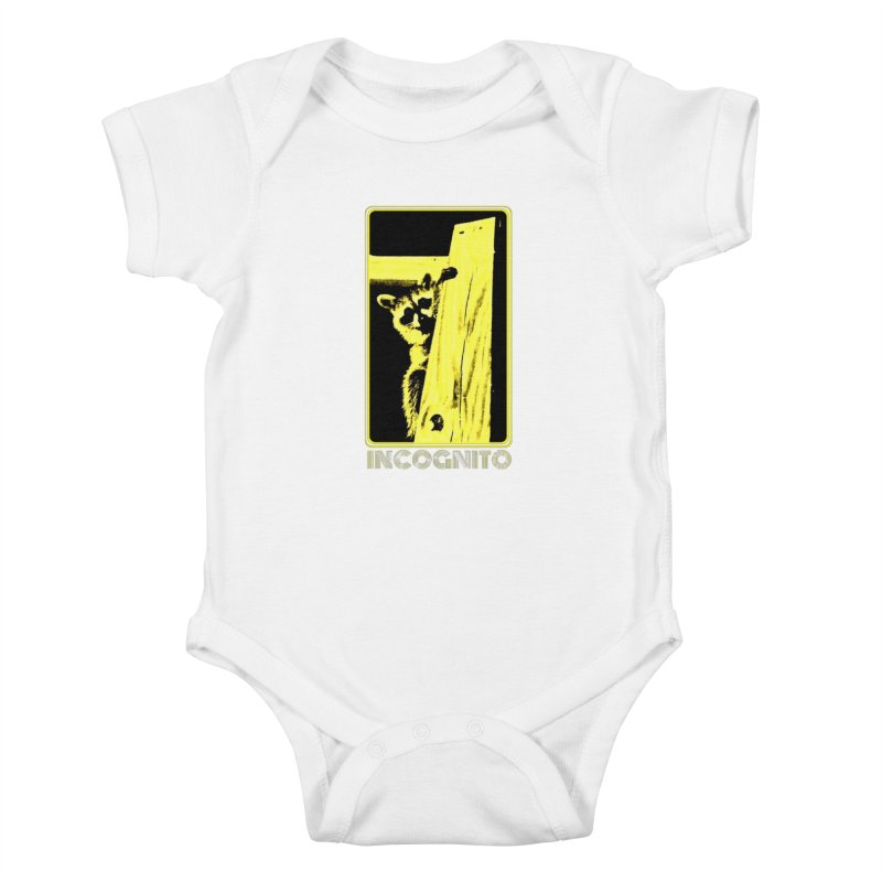 INCOGNITO Kids Baby Bodysuit by 7thSin Apparel