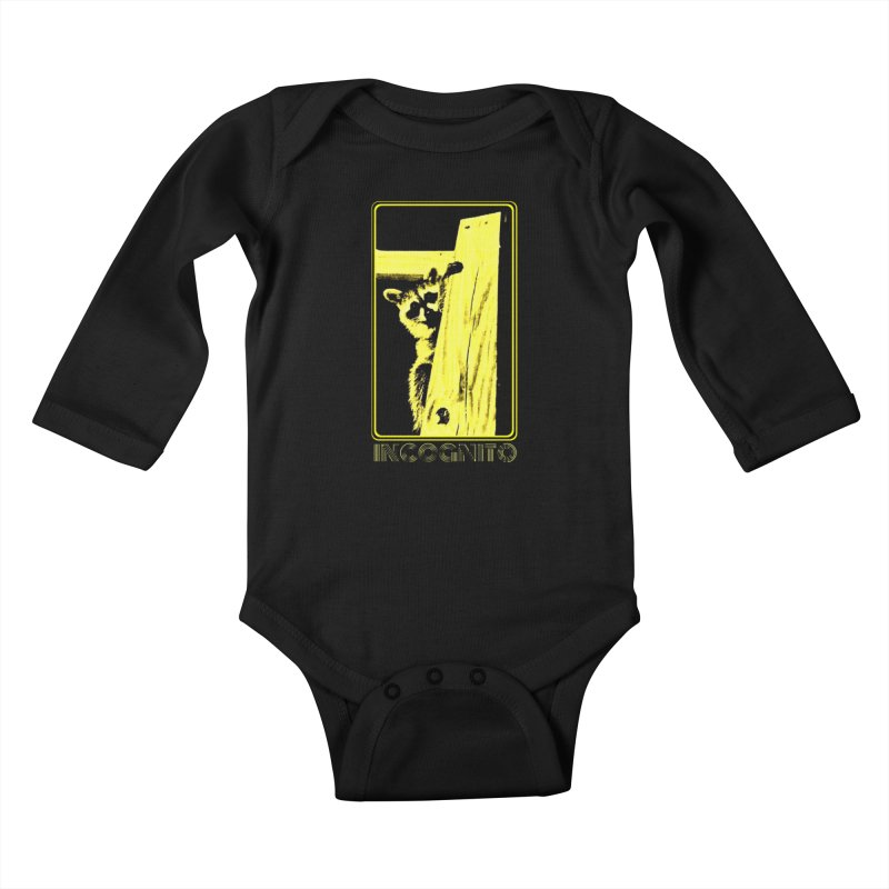 INCOGNITO Kids Baby Longsleeve Bodysuit by 7thSin Apparel